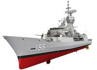 ANZAC MEKO Class Frigate HMAS BALLARAT FFH 155