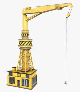 crane container model