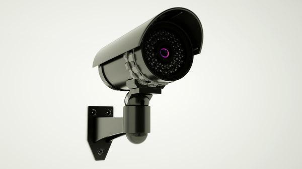 cctv security camera 3D