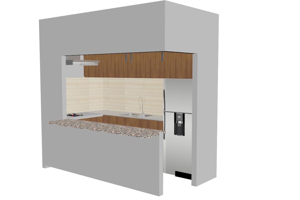 3D model cocina
