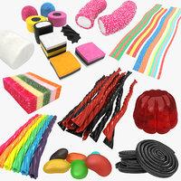 gummy candy 3D model