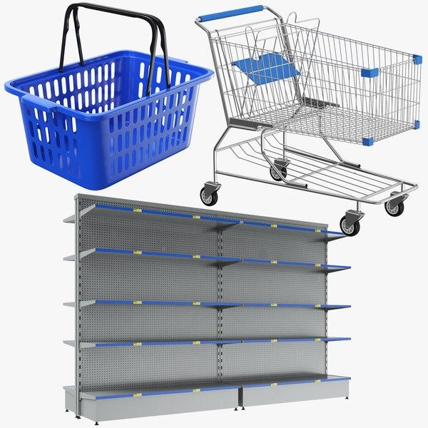 real supermarket model