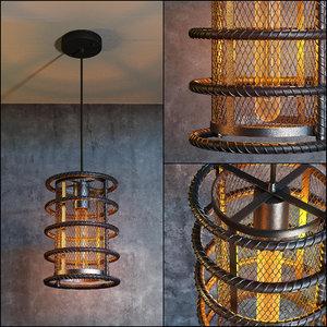 3D best loft ceiling light model