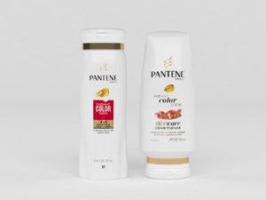 3D model pantene pro-v shampoo conditioner