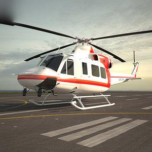 3D bell 412 model