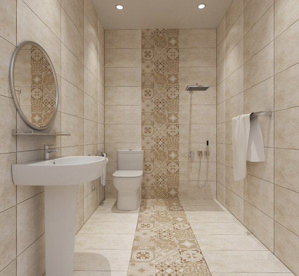 set bathroom shower model