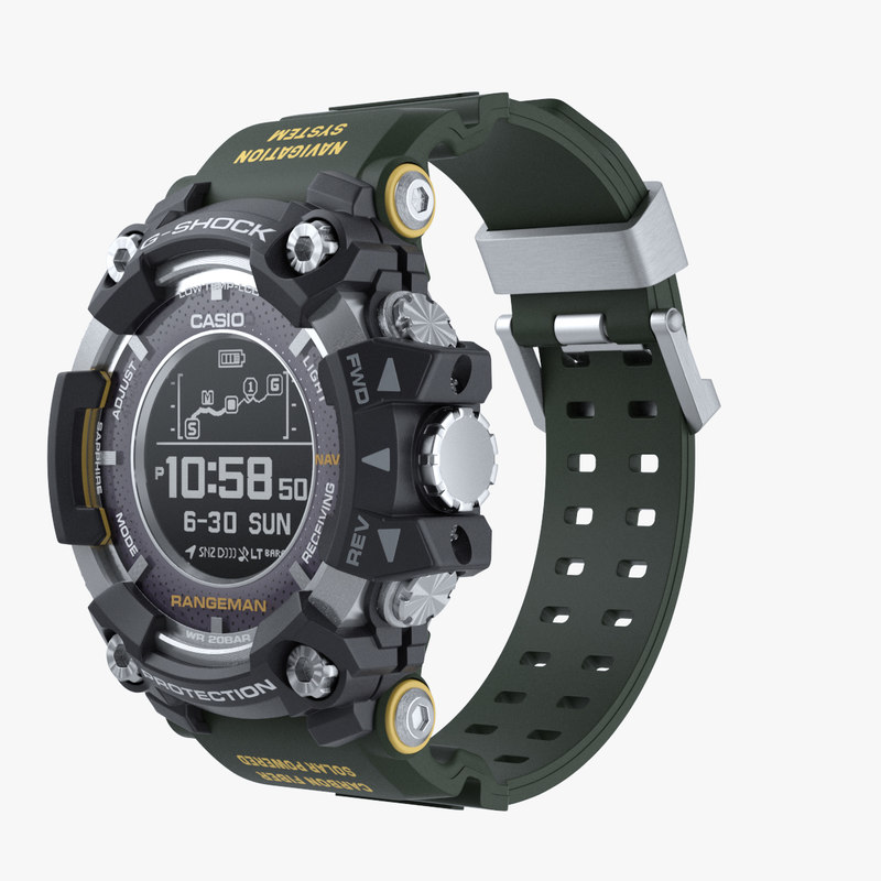 reputable site 5acd9 ee633 Casio G-Shock Rangeman GPR B1000 Caqui
