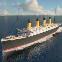 rms titanic 3D
