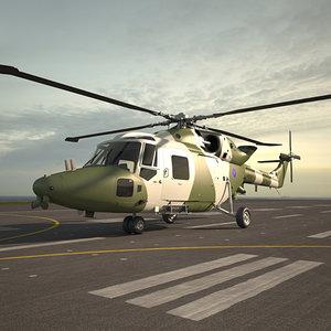 3D westland lynx ah model