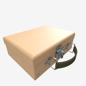 small suitcase 3D model
