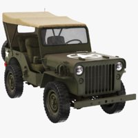 Military Jeep Willys