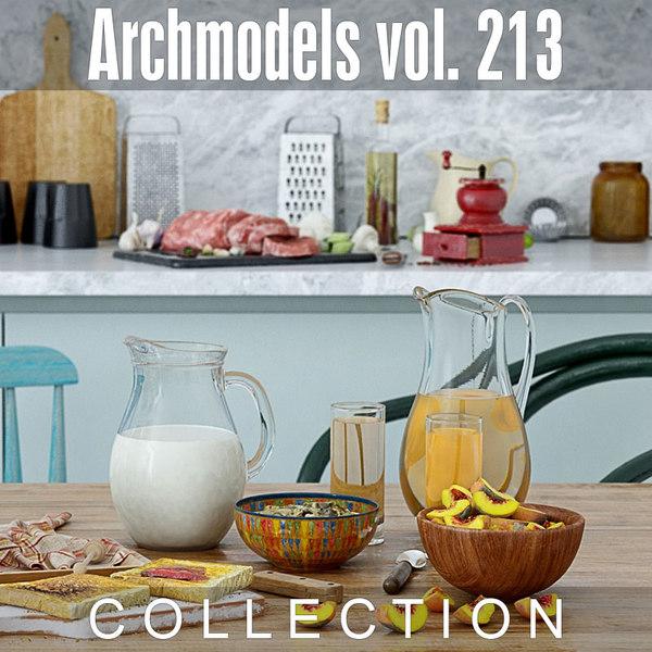 archmodels vol 213 3D model
