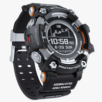 sports watch shock resistant 3D model