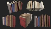 Old Books PBR pack