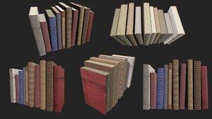 pack old books model