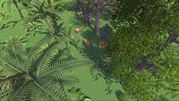 vegetation handpainted trees bushes 3D model