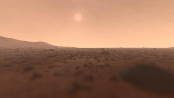 3D scene - surface