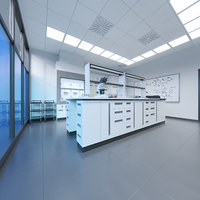 3D model laboratory lab