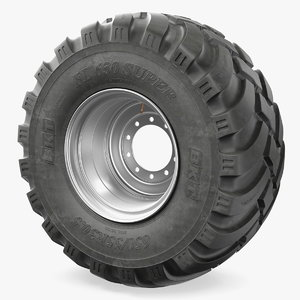 3D bkt fl630 tire model