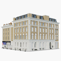 3D model victorian building context cuthbert