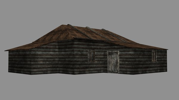 old house 3D