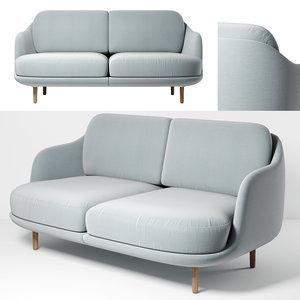 3D model sofa lune