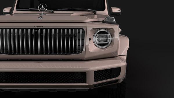 mercedes-maybach g 600 limousine 3D model