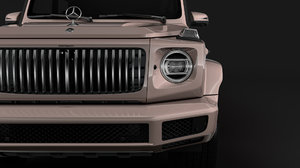 mercedes-maybach g 600 limousine 3D model
