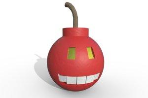 3D model bomby
