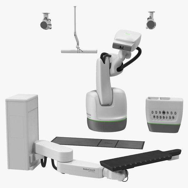 cyberknife radiation therapy device 3D model
