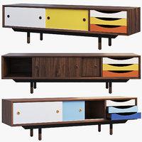 1955 TV Cabinet (3 options)