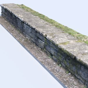 3D realistic stonewall