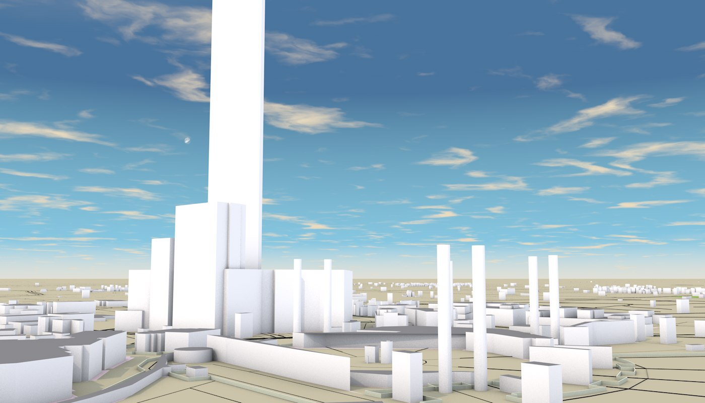 MECCA SAUDI ARABIA 3D MODEL