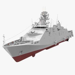 sigma corvette 3D model
