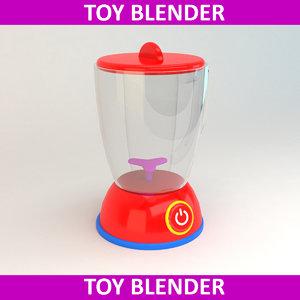 3D toy blender