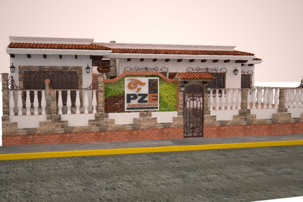 3D despacho model