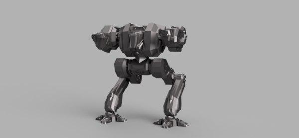 mech mecha robot 3D model