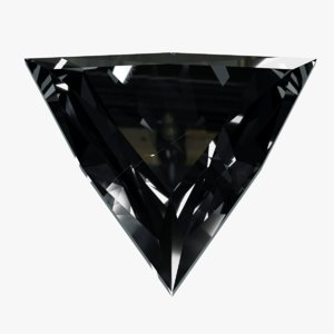 diamond trilliant 3D model