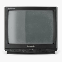 3D old tv panasonic tc21 model