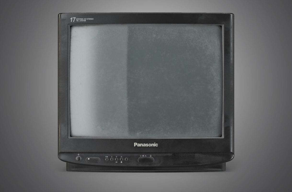Old TV Panasonic TC21