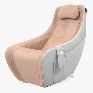 compact massage chair 3D model