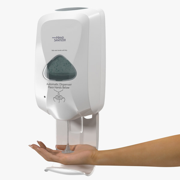 3D touch dispenser generic hand