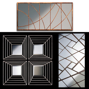mirrors set 05 3D model