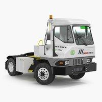 Kalmar Ottawa T2 Terminal Tractor Rigged 3D Model