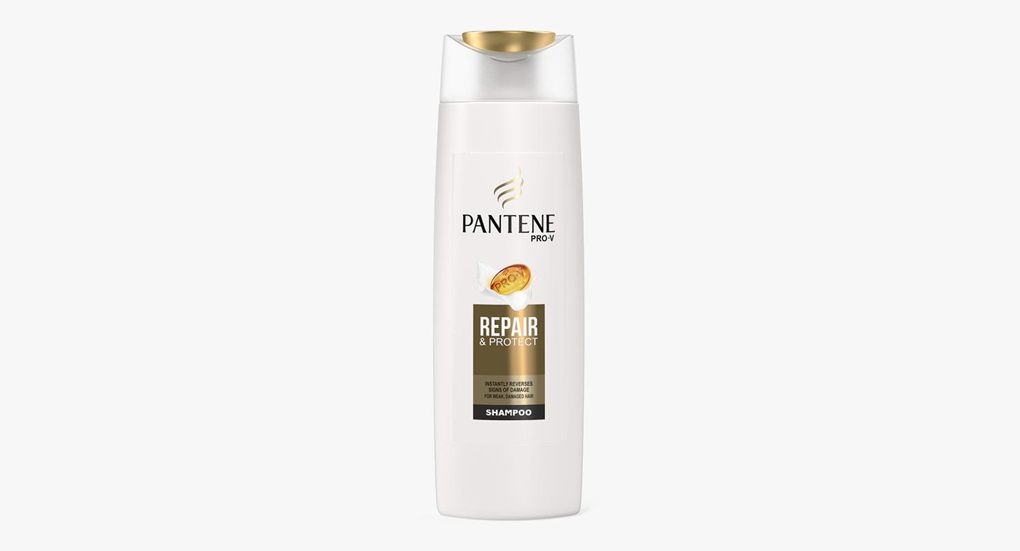 Pantene Pro V Shampoo Bottle