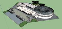 3D architecture museum