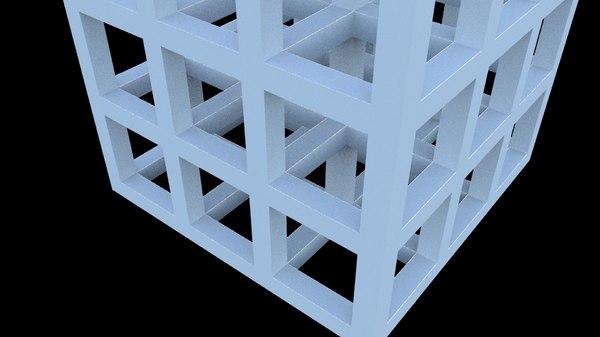 3D skeleton frame