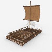 3D sea river model