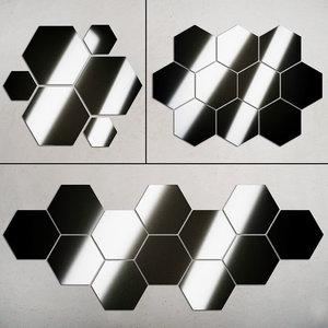 mirrors set 12 3D model