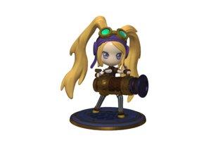 layla zbrush characters model
